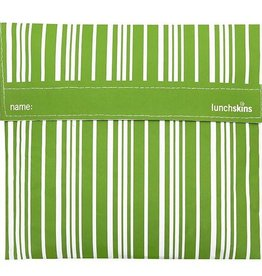 3greenmoms Reusable Sandwich Big Bag Green Stripe (Velcro)