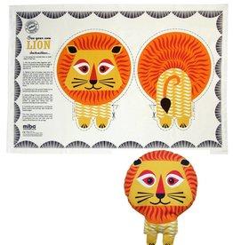 Mibo Tea Towel Lion