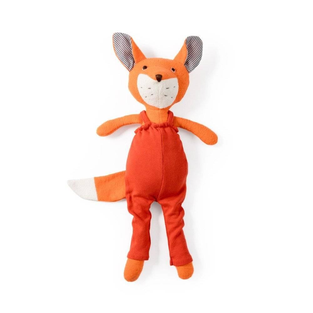 Hazel Village Owen Fox in Suspender Leggings