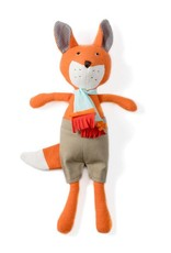 Hazel Village Stuffed Animal Reginald Fox in Shorts and Scarf
