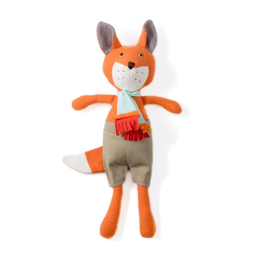 Hazel Village Reginald Fox in Shorts and Scarf