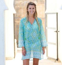 Rockflowerpaper Zina Ocean Beach Tunic