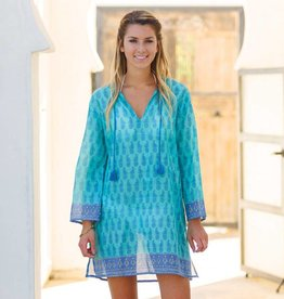 Rockflowerpaper Pineapple Ocean Beach Tunic