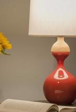 J Schatz Kuni Juu Table Lamp Red