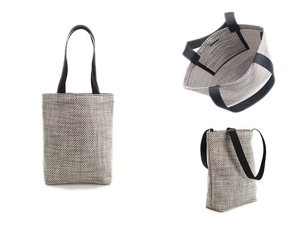 Chilewich Basketweave Tote Oyster