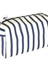 Rockflowerpaper Bateau Stripe Navy Dopp Kit