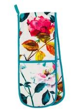 Designers Guild Couture Rose Fuchsia Double Oven Glove