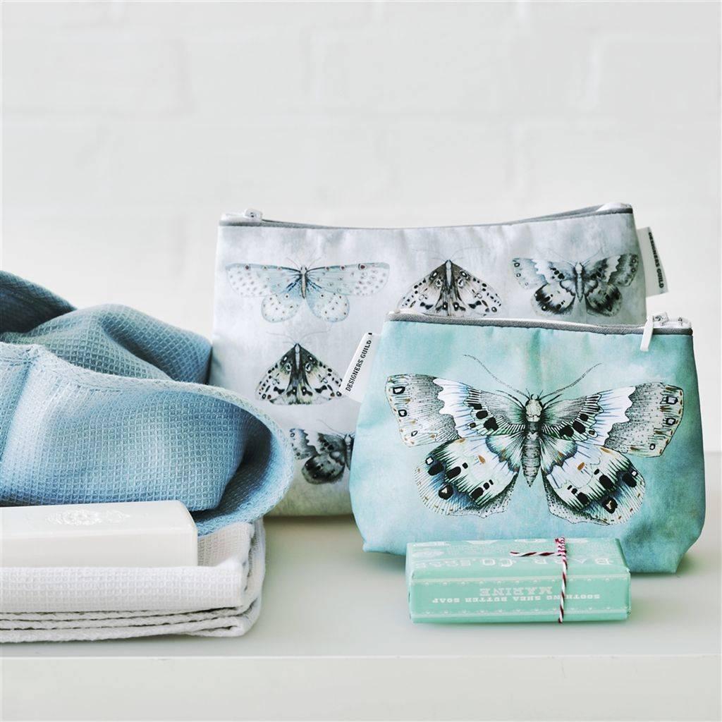 Designers Guild Issoria Jade Small Toiletry Bag