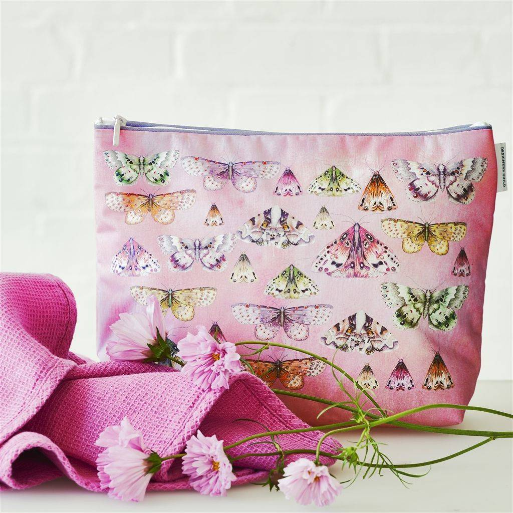 Designers Guild Issoria Rose Large Toiletry Bag
