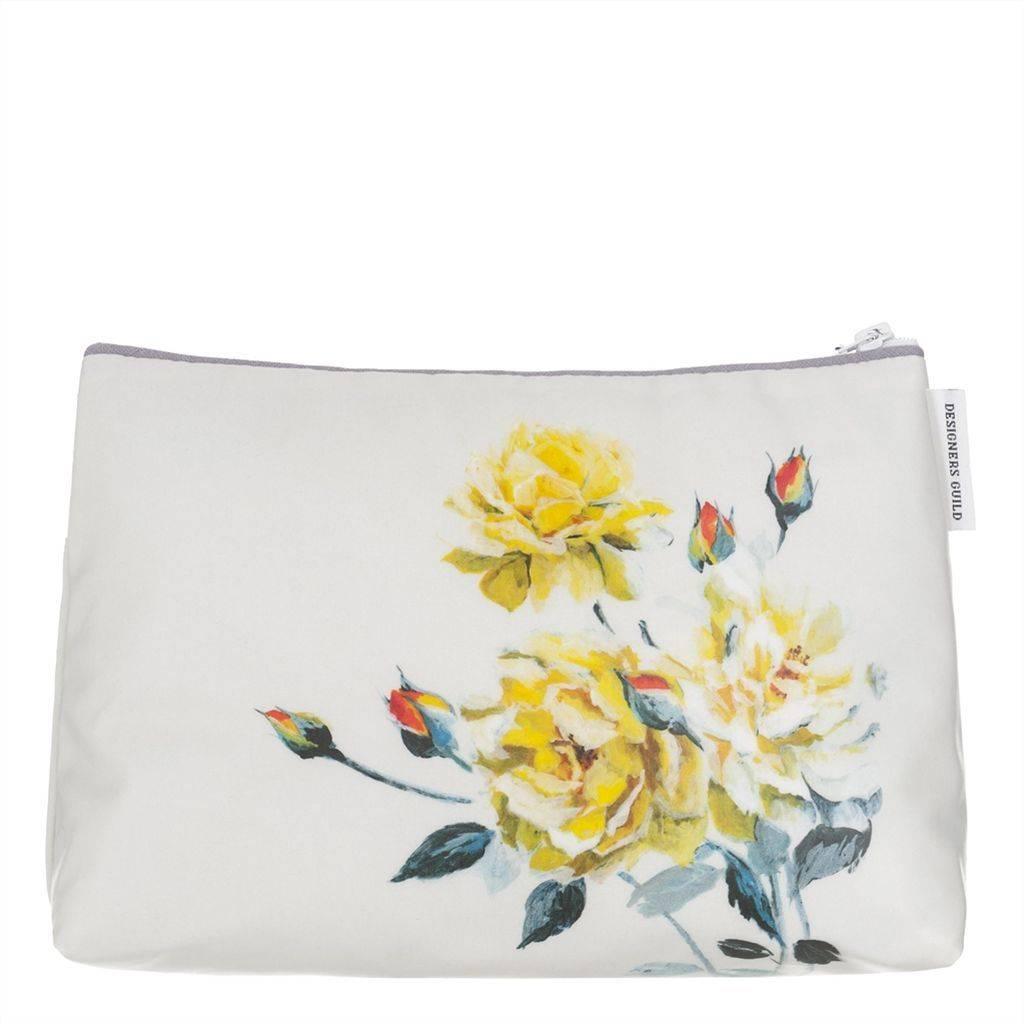 Designers Guild Couture Rose Fuchsia Medium Toiletry Bag