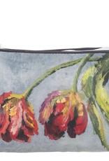 Designers Guild Tulipani Graphite Small Toiletry Bag