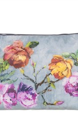 Designers Guild Tulipani Graphite Large Toiletry Bag