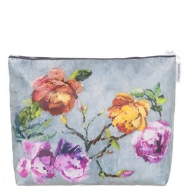 Designers Guild Tulipani Graphite Large Toiletry Bag
