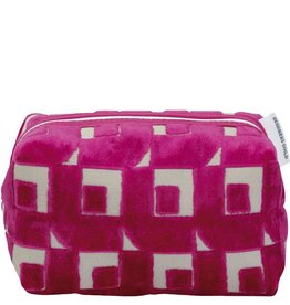 Designers Guild Pugin Fuchsia Small Toiletry Bag