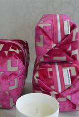 Designers Guild Pugin Fuchsia Medium Toiletry Bag