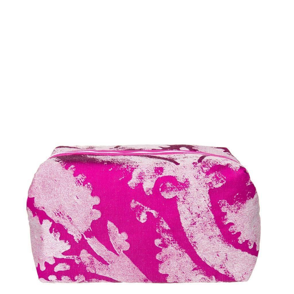 Designers Guild Majella Fuchsia Medium Toiletry Bag