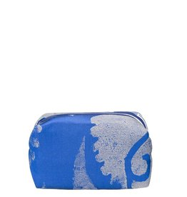 Designers Guild Majella Cobalt Small Toiletry Bag