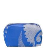 Designers Guild Majella Cobalt Medium Toiletry Bag
