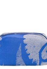 Designers Guild Majella Cobalt Medium Toiletry Bag