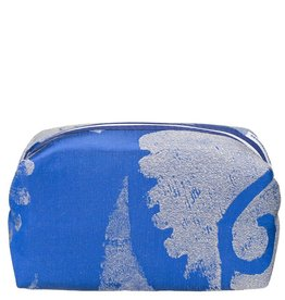 Designers Guild Majella Cobalt Large Toiletry Bag