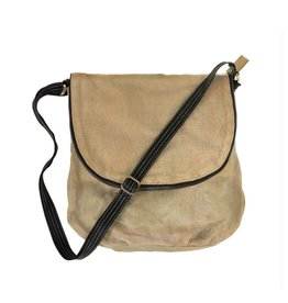 Helping Hand Partners Courier Bag Beige