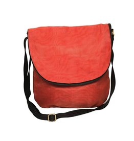 Helping Hand Partners Courier Bag Persimmon