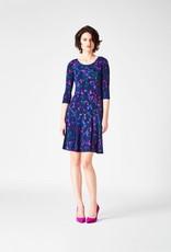 Leota Kelsey Dress Navy Prism L