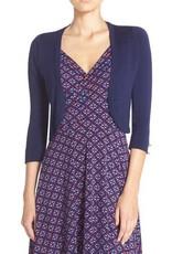 Leota Renee Navy Knit Cardigan
