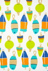 Rockflowerpaper Buoys Kitchen Towels