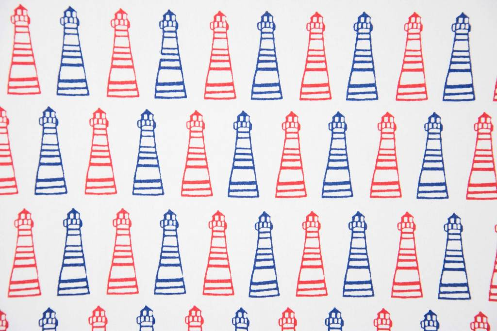 Rockflowerpaper Lighthouse Kitchen Towels