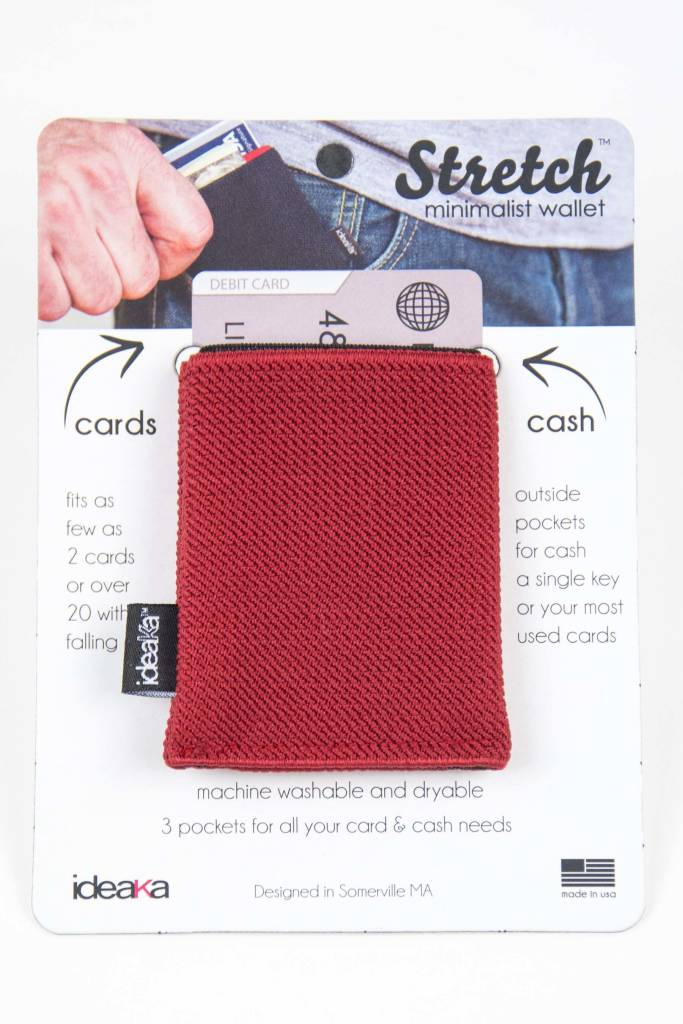 Ideaka Stretch Wallet brick-black