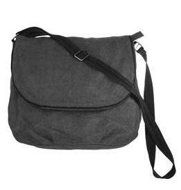 Helping Hand Partners Large Messenger Bag Charcoal