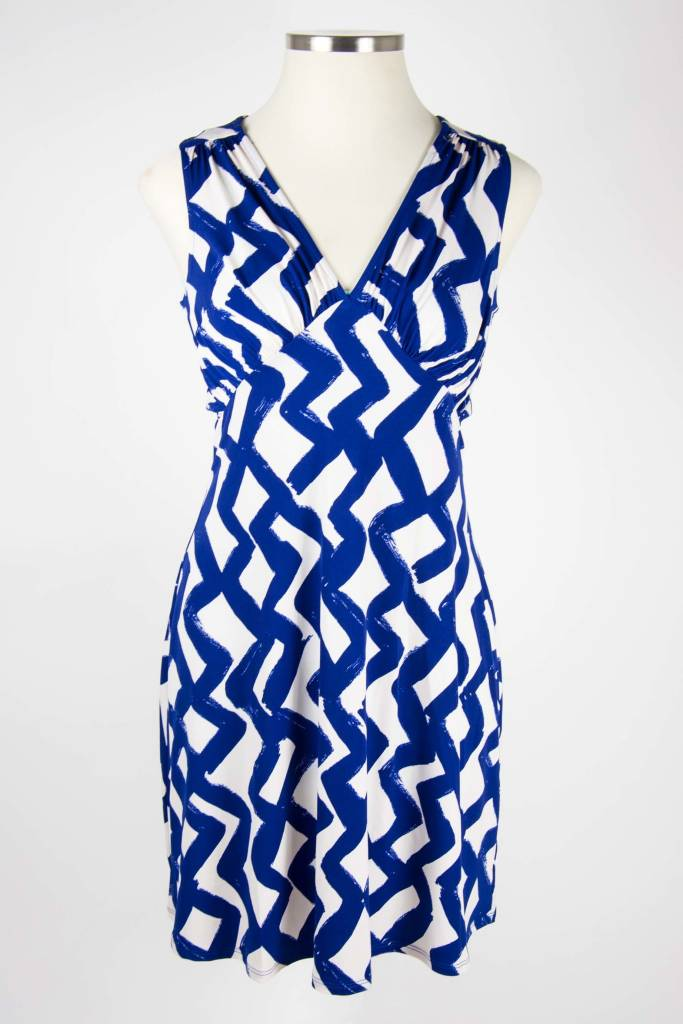 Leota Isabella Zig Zag Dress