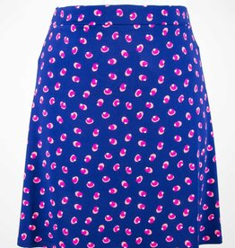 Leota Lilian Skirt Martini Dot Navy