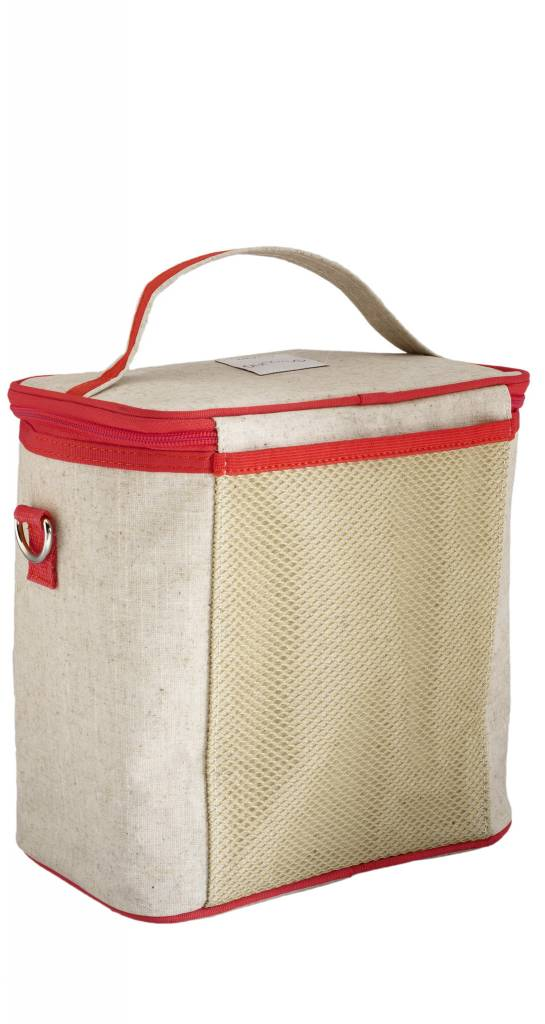 So Young Large Cooler Bag Red Vespa Scooter