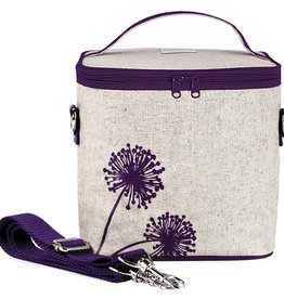 So Young Large Cooler Bag Purple Dandelion