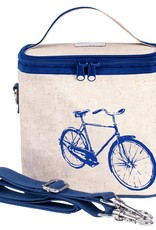 So Young Large Cooler Bag Blue Bicycle
