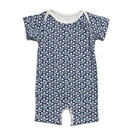 Winter Water Factory Summer Romper Berries Navy