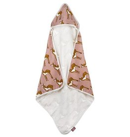 Milkbarn Hooded Towel Rose Deer
