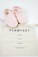 Clamfeet Baby Shoes New Solid Blush