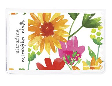 Gina B Designs Microfiber Cloth Yellow Daisies