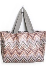 Mixt Studio Reversible Tote-Tonga Metallic