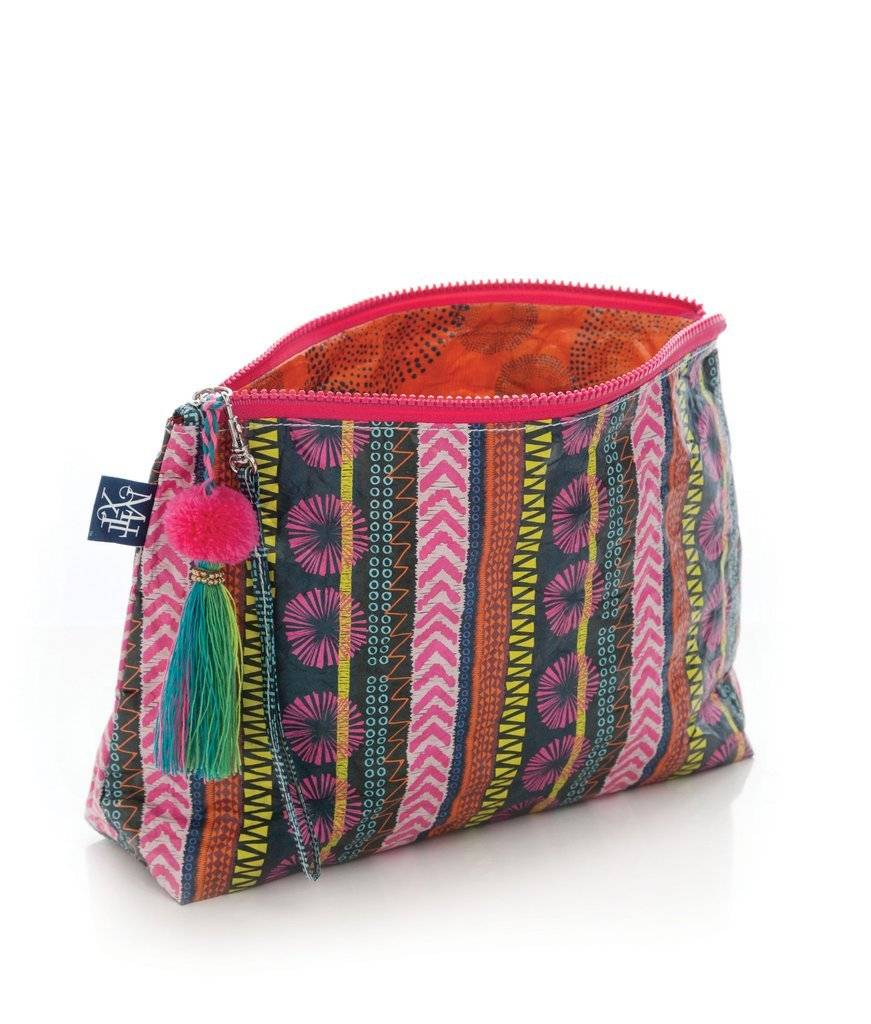 Mixt Studio Tassel Pouch-Tribal Beat
