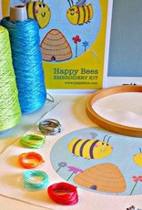 Pippablue Happy Bees Embroidery kit