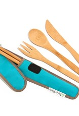 To-Go Ware Utensil Set Agave - Teal