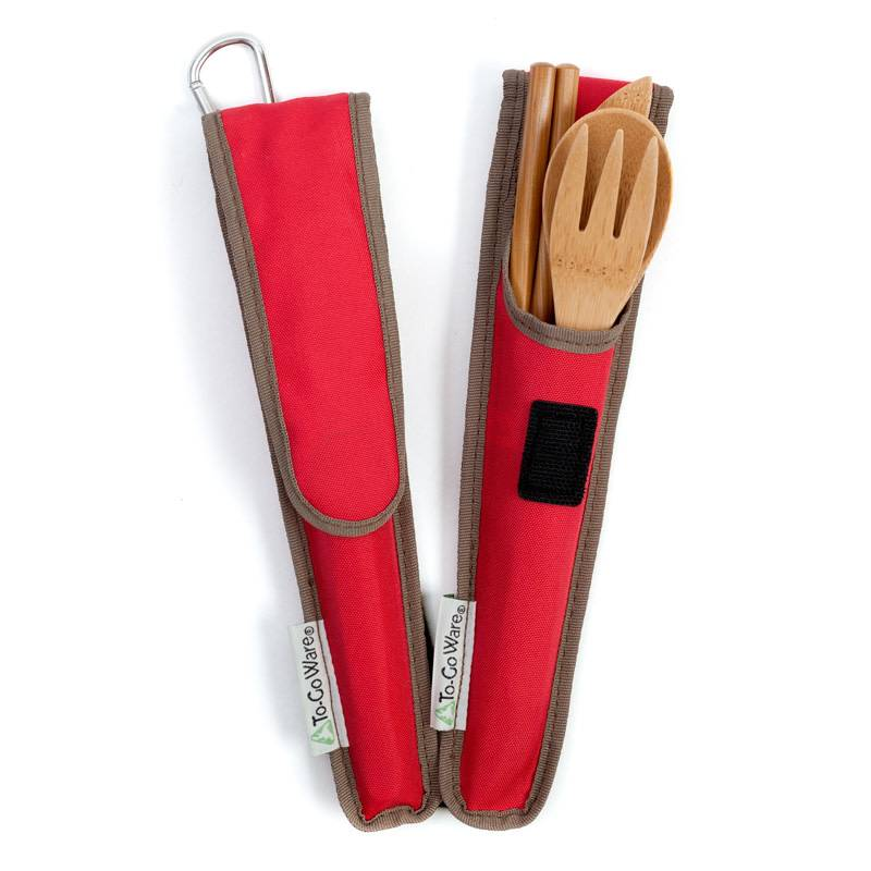 To-Go Ware Utensil Set Cayenne (Red)