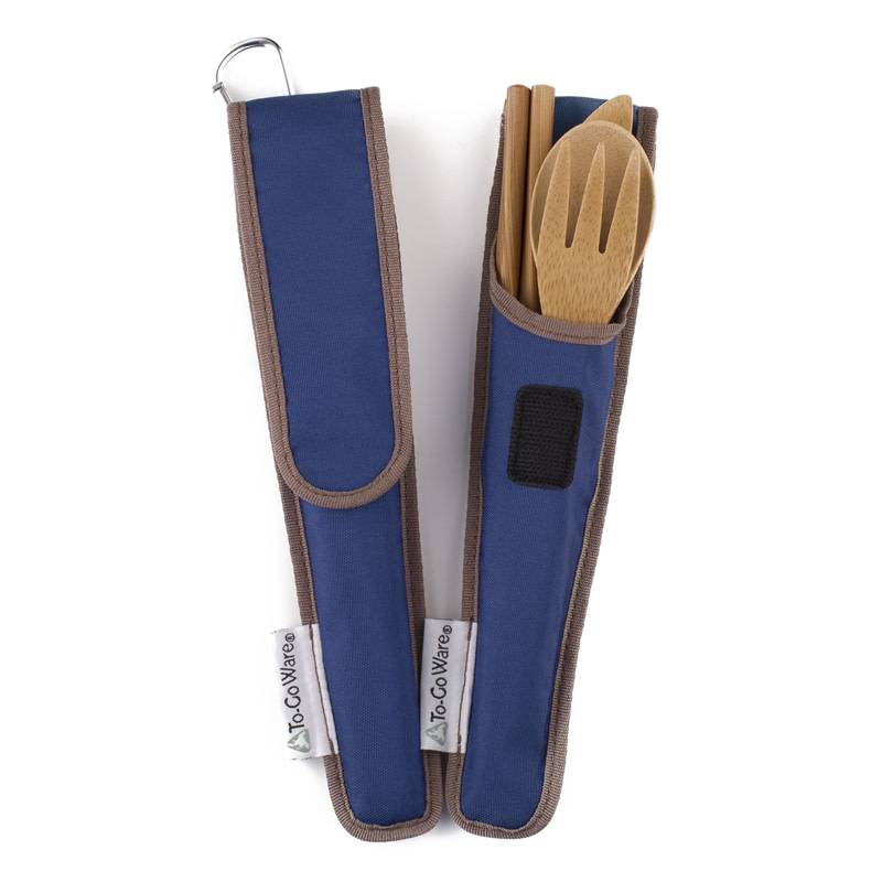 To-Go Ware Utensil Set Indigo (Dark Blue)