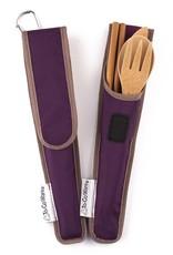 To-Go Ware Utensil Set Mulberry (Dark Purple)