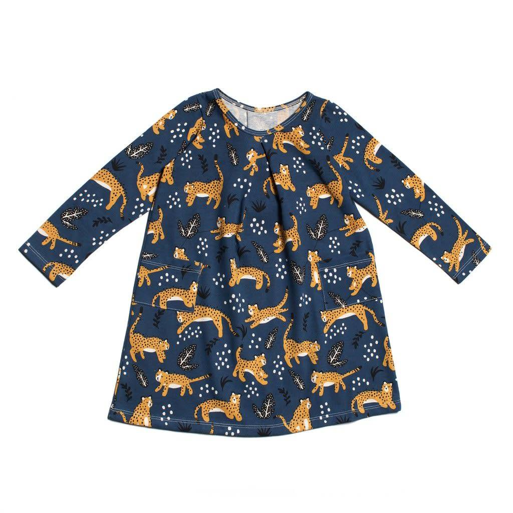 Winter Water Factory Aspen Dress Wildcats Navy