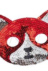 Rice Sequin Mask Cat